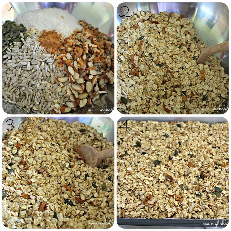 SRC: Homemade Pecan Muesli .... Homemade goodness in all its glory. Once you've made muesli at home, you'll never use store bought again.