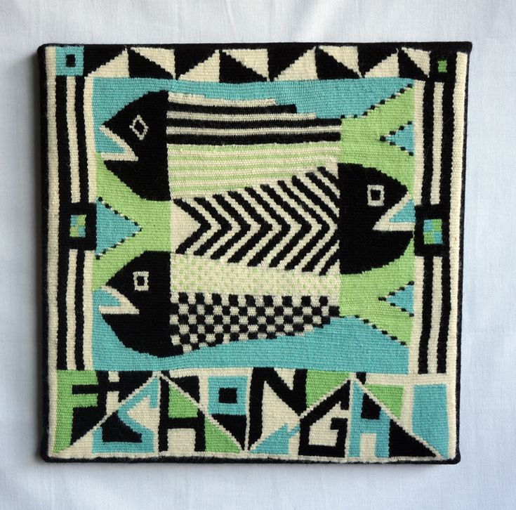 "Becky Stevens ""Fish Tonight"" 15"" x 15"""
