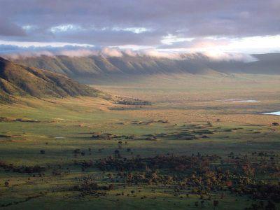 cratère du Ngorongoro nord de la Tanzanie -