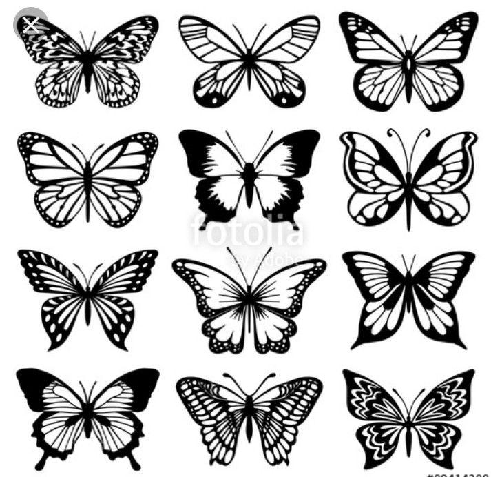Pin By Kristyn Ryan On Tatts Butterfly Drawing Butterfly Tattoo Designs Simple Butterfly Tattoo