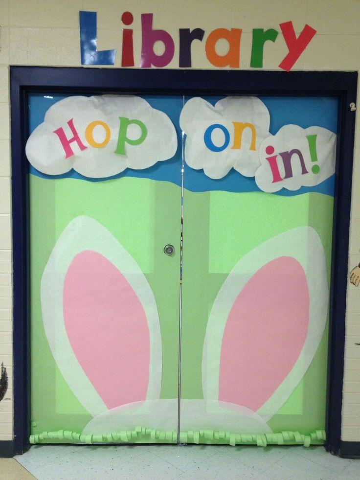 Bunny #classroom #door