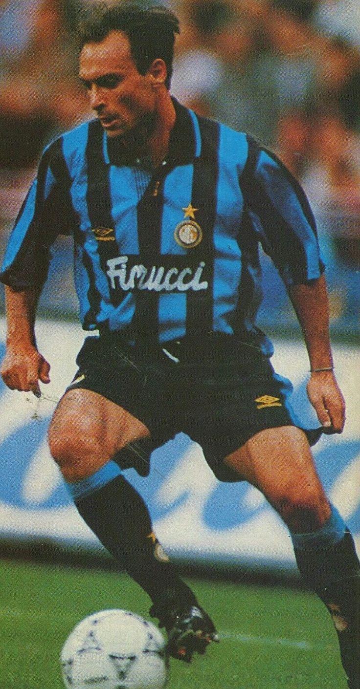 Toto Schillaci of Inter Milan in 1992.