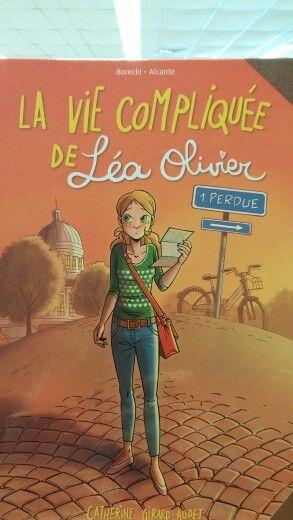 2015-03-09 BD La vie compliquée de Léa Olivier 1 Perdue (BD LÉA T. 1)