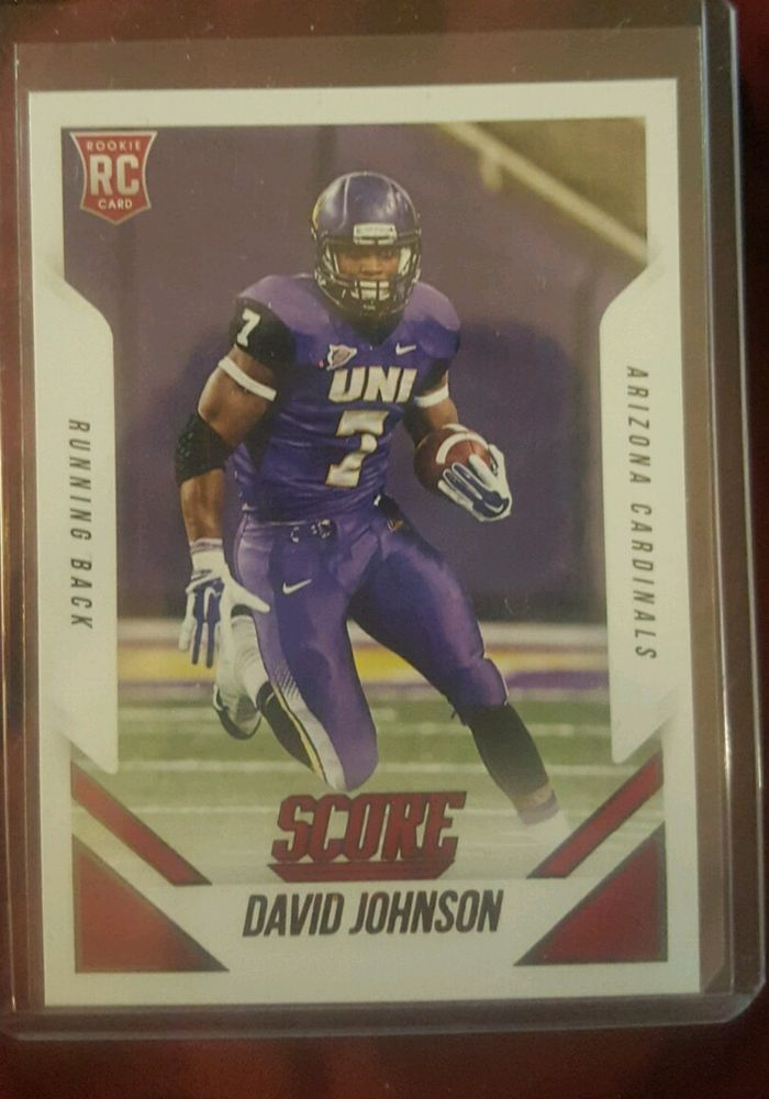 2015 Score Football David Johnson #391 Rookie Arizona Cardinals in Sports Mem, Cards & Fan Shop, Cards, Football | eBay