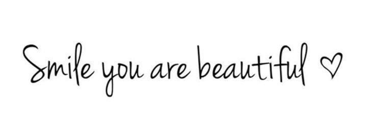 Smile Because Quotes Tumblr: Smile :) Because You Are Beautiful :) Heart Warming Quote