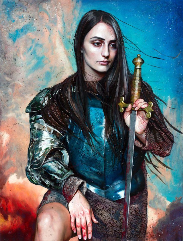 Martin Eder's Armor Clad Women. German artist... - SUPERSONIC ART