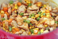 PANELATERAPIA - Blog de Culinária, Gastronomia e Receitas: Frango Colorido