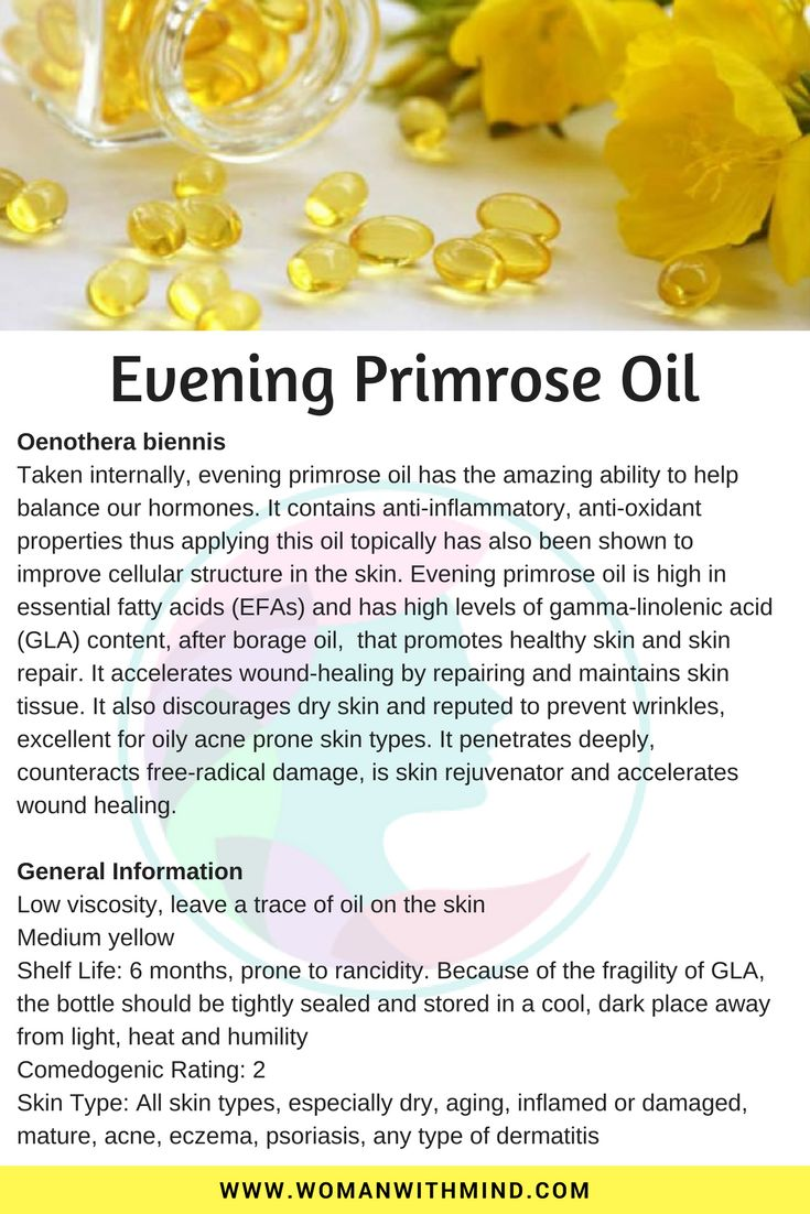 Evening Primrose Oil General Information and Beauty DIY #diy #diybeauty #essentialoils