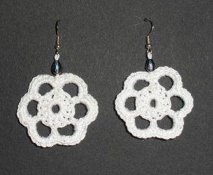 Création: un modèle de crochet gratuit (boucles d'oreilles)