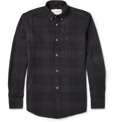 Our LegacyOverdyed Check Cotton Shirt