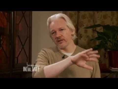 "Julian Assange On The Whistleblower Edward Snowden - ""It's not possible to have a fair trial, because the U.S. government has a precedent of applying state secret privilege to prevent the defense from using material that is classified in their favor."""