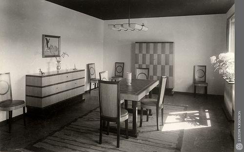 Interior 1930 Stockholm Exhibition