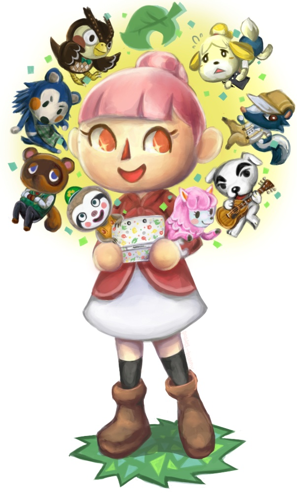 I HAVE BEEN ADDICTED TO ANIMAL CROSSING NEW LEAF ;-;