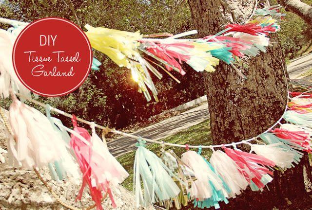 Parti dekoráció: új stílusú girland