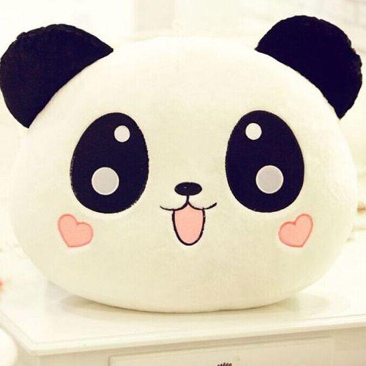 "20cm 8"" Good Plush Doll Toy Stuffed Animal Panda Pillow Quality Bolster Gift New #UnbrandedGeneric"