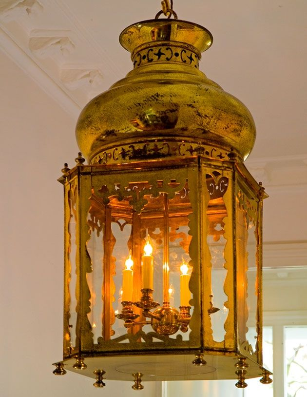 in just the right space..  Topkapi Lantern by Soane