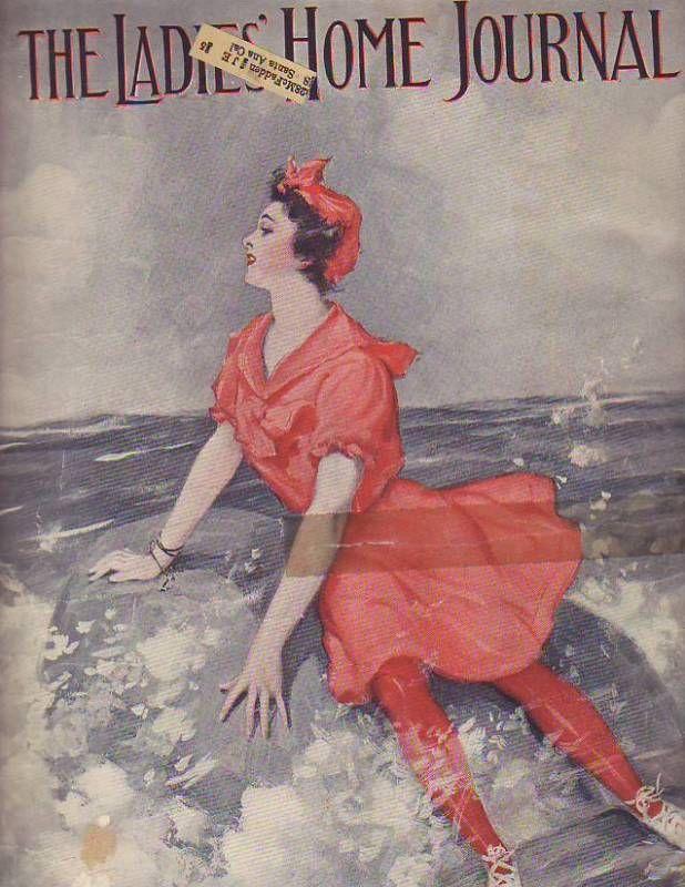1905 Ladies Home Journal July-Jessie Willcox Smith
