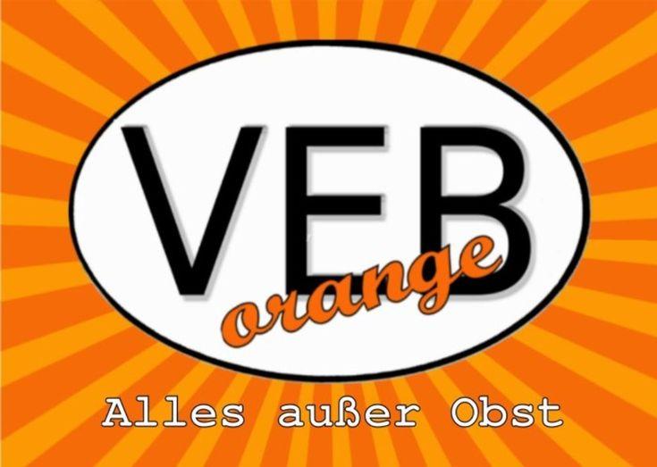 VEBorange DDR fleamarket