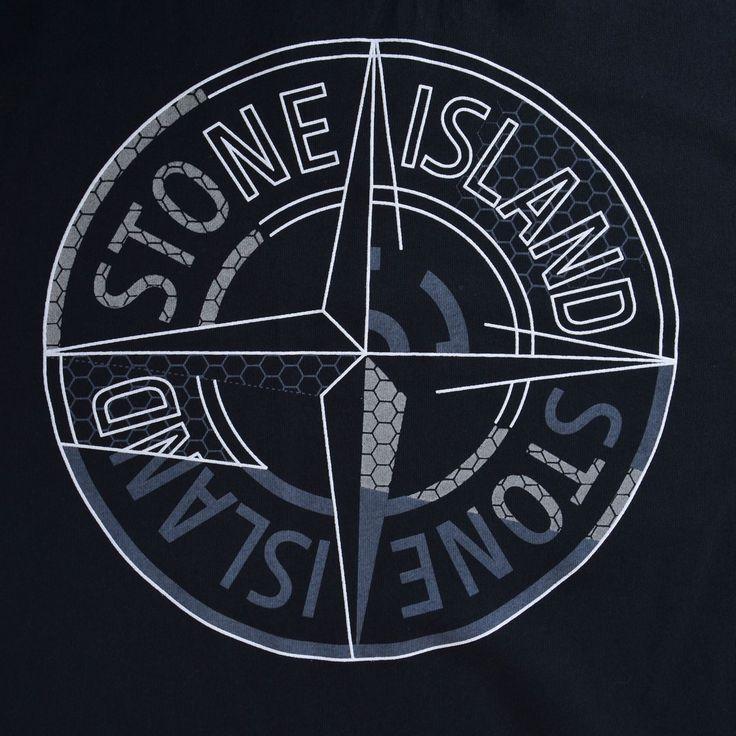 Stone Island | Short Sleeve Logo T Shirt