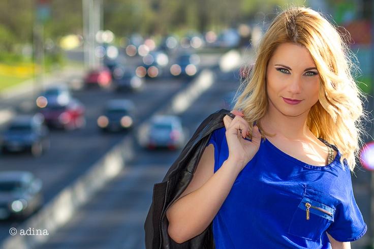 Lady in blue! www.adinafelea.ro