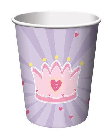 Fairytale Princess Party Cups (8)  Fairytale party time? You'll love these on your party table!