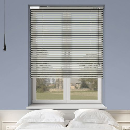 Controliss 6V DC battery Powered (Tilt-Only) Soho Gloss Myth Venetian Blind. #blind #venetianblind #controlissblinds