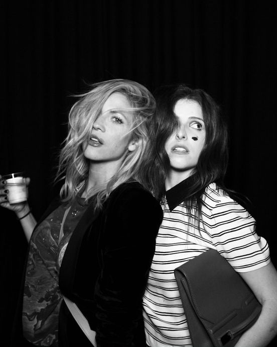 Brittany Snow and Anna Kendrick at the opening of Creep LA