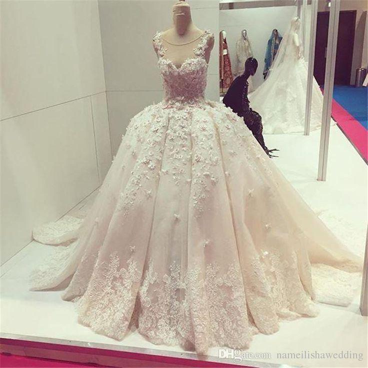 13 best Brautkleider images on Pinterest | Short wedding gowns ...