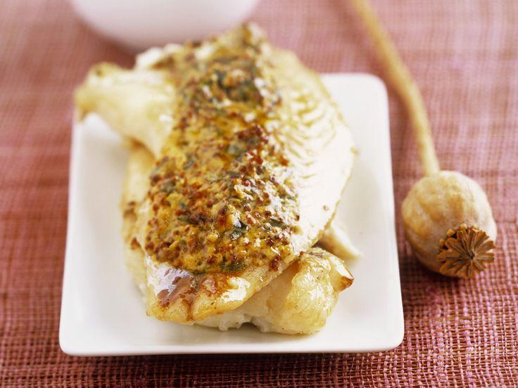 Kabeljau mit Senf-Kräuter-Kruste - smarter - Kalorien: 291 Kcal - Zeit: 15 Min. | eatsmarter.de