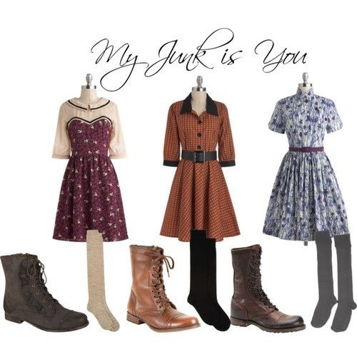 The Girls from Spring Awakening inspired outfit from Broadway Hipsters