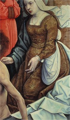 - OPUS INCERTUM - : LA SAYA DE MUJER (III) en el siglo XV e inicios del XVI. Juan de Flandes.