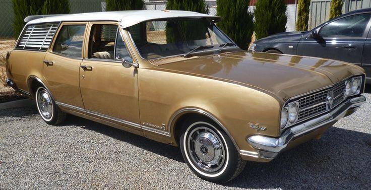 1968 Holden HK Premier Wagon - 5 litre (Chev 307) V8