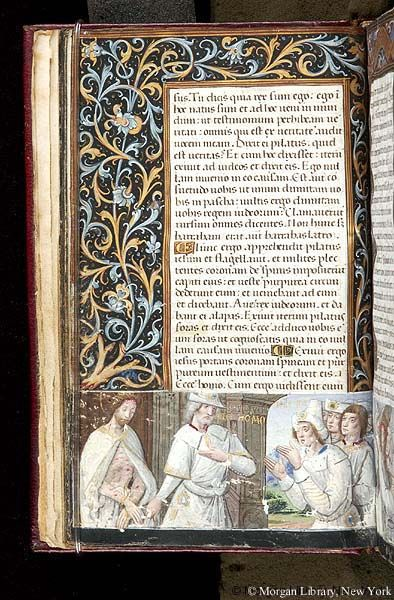Book of Hours, M.618 fol. 9v - Images from Medieval and Renaissance Manuscripts - The Morgan Library & Museum
