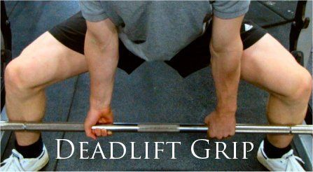 Powerlifting Deadlift Grip