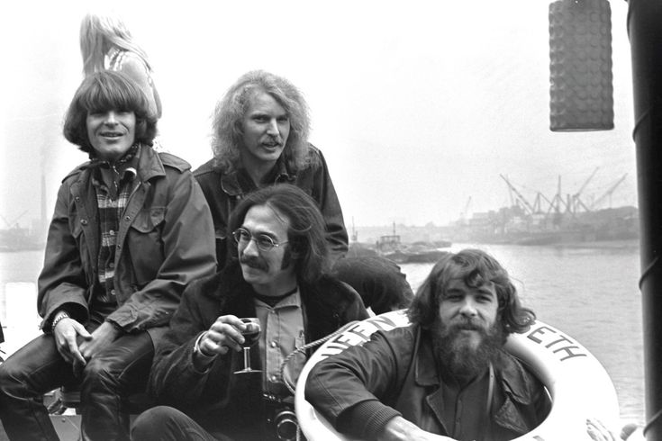 The boys from El Cerrito, California. Creedence Clearwater Revival