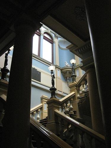The Palladian Style Stairwell of the Ballarat Town Hall - Sturt Street, Ballarat