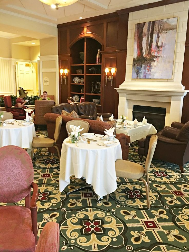 Afternoon tea at the Ballantyne Hotel in Charlotte, NC - The 2 Seasons