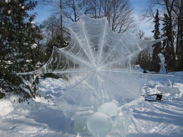 Korkeasaari Zoo : Ice Sculpture