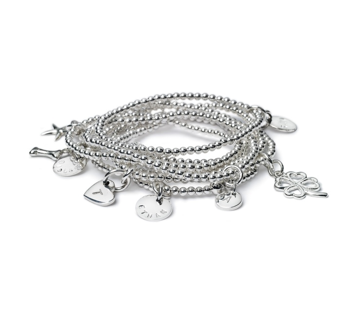 Create your own story...with sterling silver.