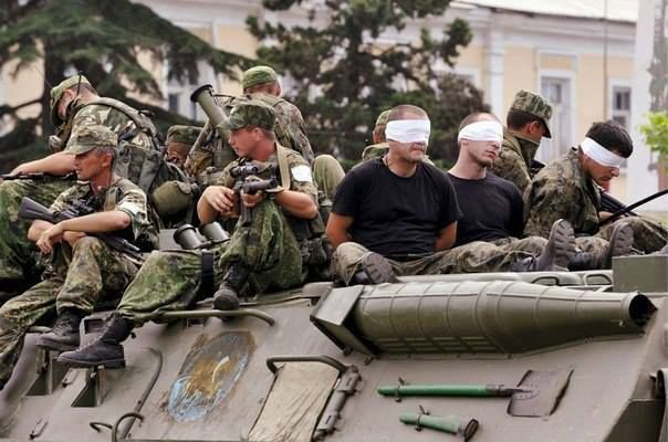 Russian forces durint the Russia–Georgia War of 2008 (also known as the Five-Day War, 2008 South Ossetia Conflict or August War) 7–16 August 2008 .