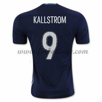 Sverige Landslagströja 2016 Kallstrom 9 Borta Tröjor