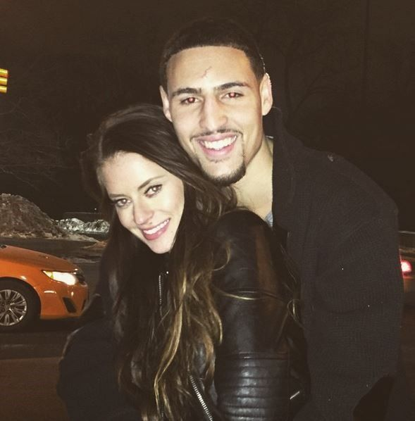 NBA player Klay Thompson's girlfriend is internet sensation Hannah Stocking