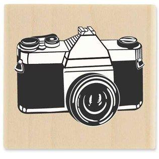 Vintage Camera Rubber Stamp | Shop Hobby Lobby