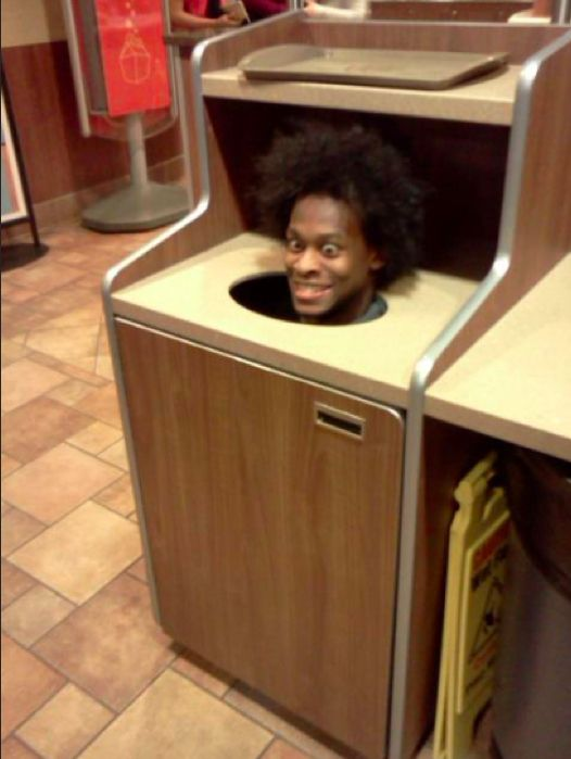 Meanwhile, At McDonalds.... Some are funny, some will make your jaw drop