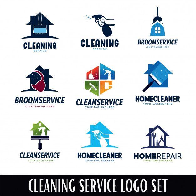 Cleaning Service Logo Designs Template Service Logo Logo Design