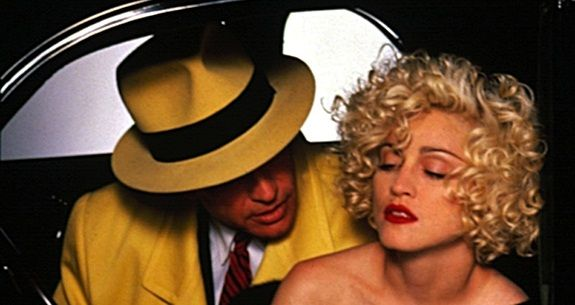 Dick Tracy: Warren Beatty, Madonna Finally Get the High-Def Attention They Deserve. Blu-Ray.