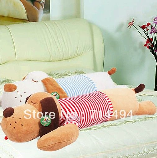90cm Ultra low-cost plush toy giant lie prone dog doll cute pillow creative dolls free shipping $18.30