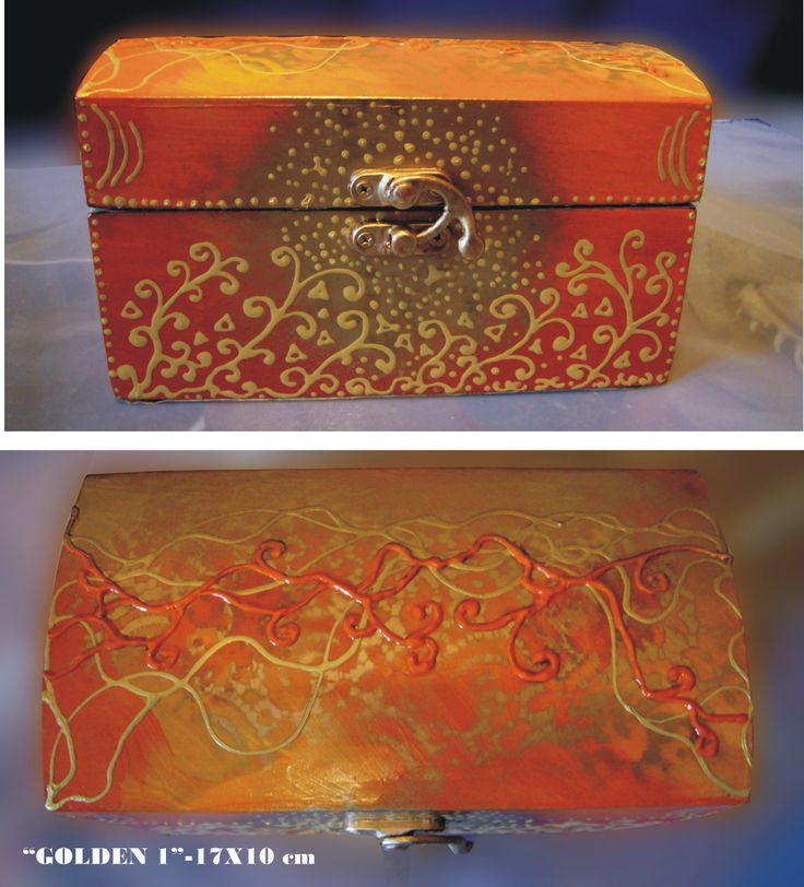 "Box ""Golden 1"""