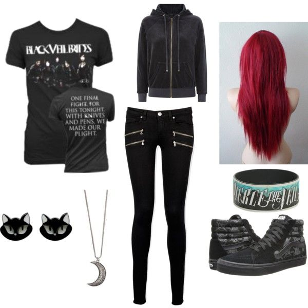 I honestly don't know what to call this I just made it in polyvore.    -the emo puppy