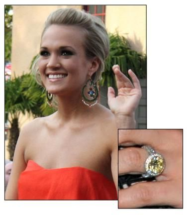 Carrie Underwood Engagement Ring Picture 26